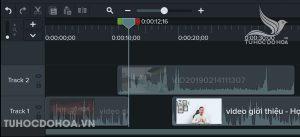 Hướng dẫn sử dụng camtasia Cắt ghép các video thành video thô hoàn chỉnh