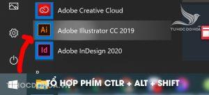 Khởi động và Cách reset lại phần mềm illustrator