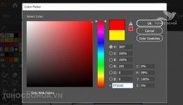 Tô màu trong Illustrator - Cách đổ màu, sao chép màu trong AI