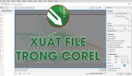 Xuất file ảnh trong Corel, Xuất file định dạng Jpg, Png, Jpeg