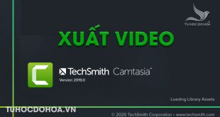 Xuất video trong Camtasia