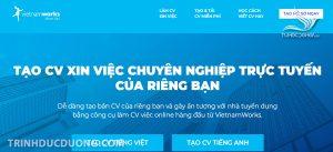 Cách viết Cv xin việc trên trang Vietnamwork