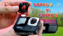 So sánh Gopro 8 và Gopro 9 - Nên dùng Gopro 8 hay Gopro 9