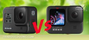 So sánh Gopro 8 và Gopro 9 có gì giống và khác nhau