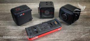 Các dòng Action camera - Insta360
