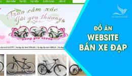 Đồ án Website Kinh doanh xe đạp – Báo cáo + source code