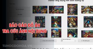 Báo cáo đồ án Tra cứu ảnh nội dung bằng phân biệt tuyến tính