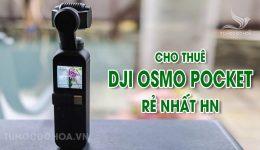 Thuê DJI Osmo Pocket - Cho thuê DJI Osmo giá rẻ nhất Hà Nội