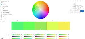 Adobe Colour CC Top 1 Những website hỗ trợ phối màu thiết kế