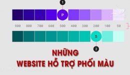 Những website hỗ trợ phối màu thiết kế chuẩn và đẹp nhất